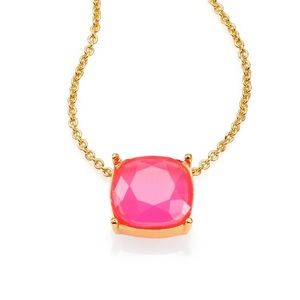 KATE SPADE pink gem necklace